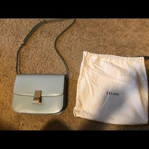 Celine Classic Box Medium 2017 Calfskin Handbag
